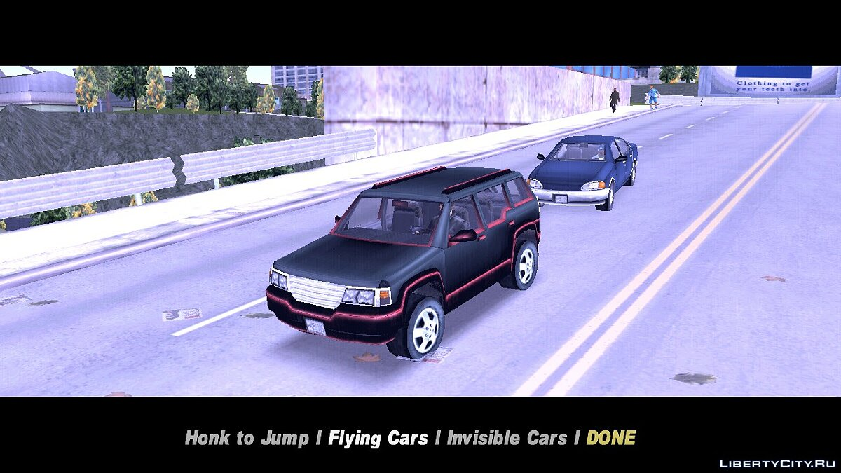 CLEO script Car Features for GTA 3 (iOS, Android)