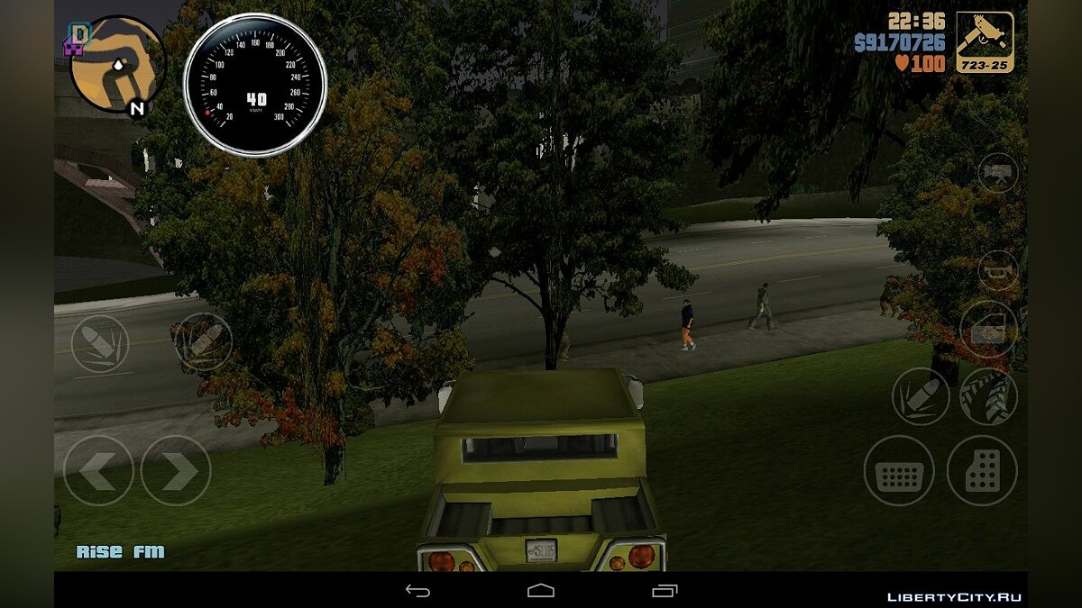 CLEO script Speedometer for android for GTA 3 (iOS, Android)