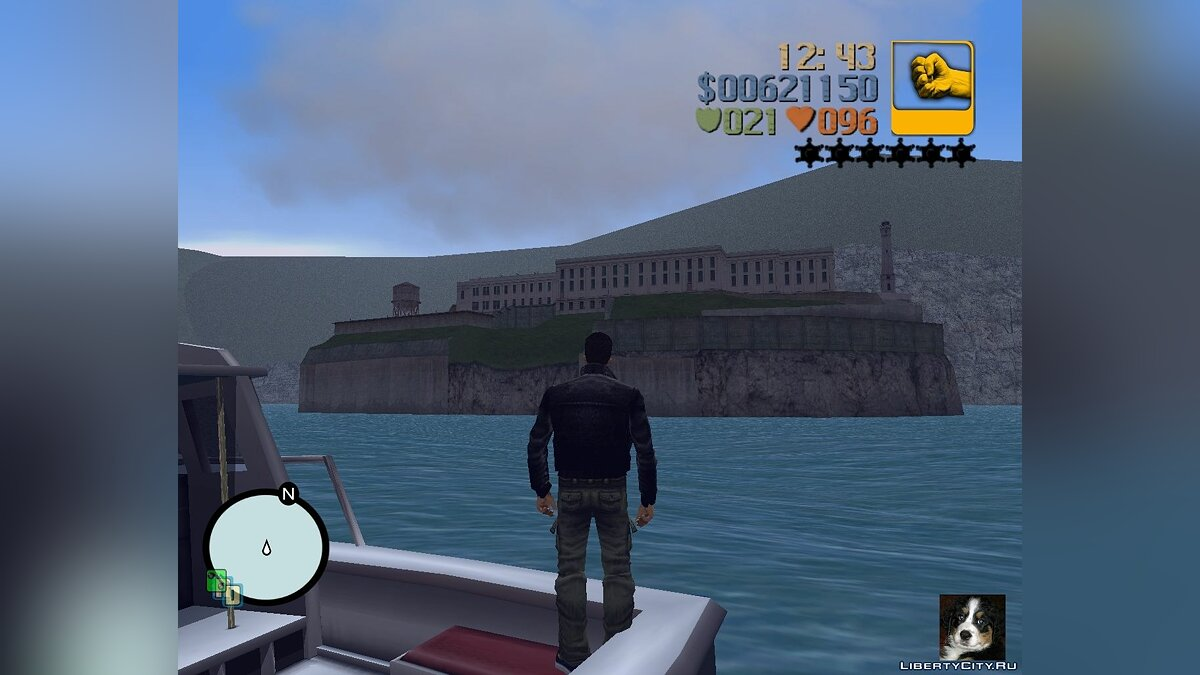 Islands and locations Alcatraz + Zeki for GTA 3