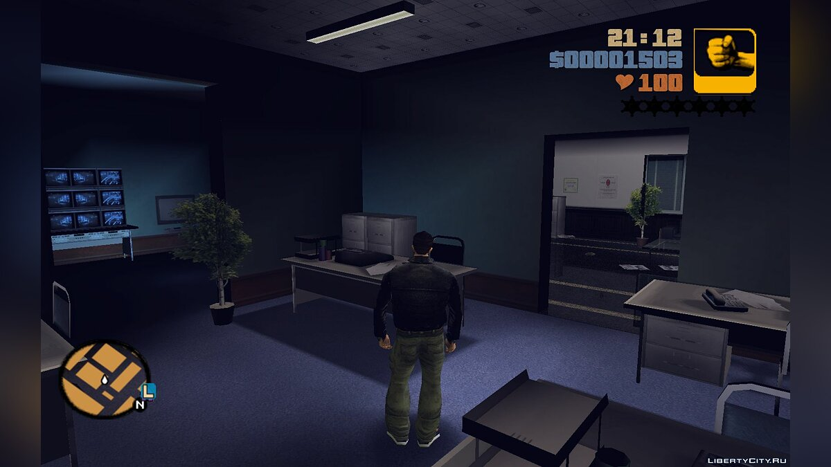 Islands and locations Liberty bank interior for GTA 3
