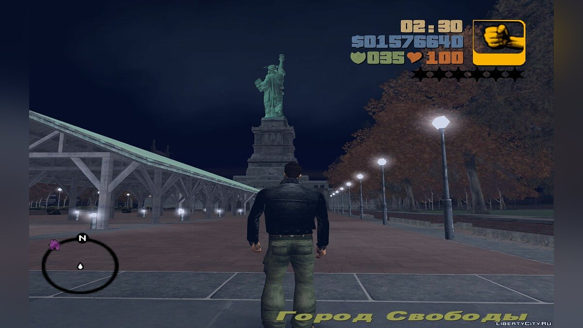 Islands and locations Statue of happiness from GTA IV for GTA 3
