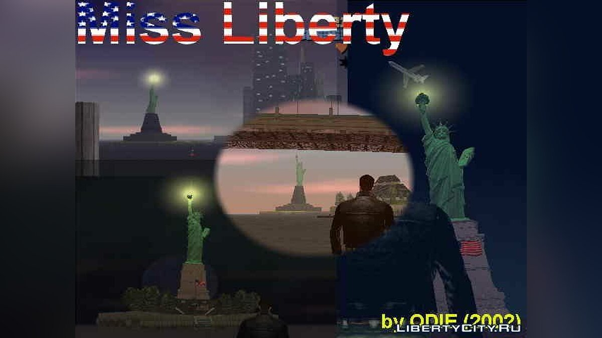 Miss Liberty for GTA 3