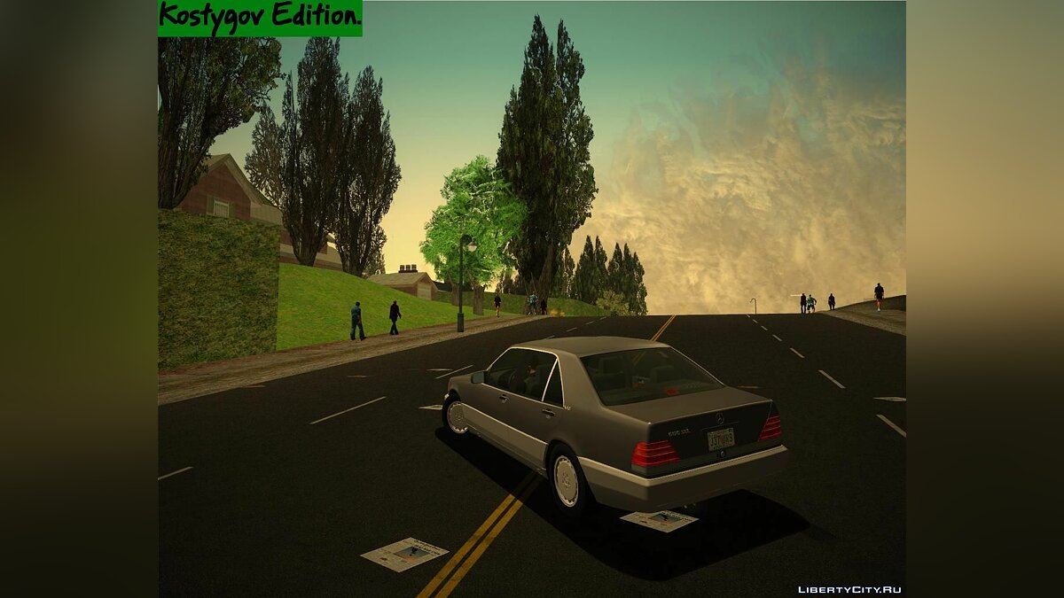 Green Trees Pack 2. for GTA 3 - screenshot #3