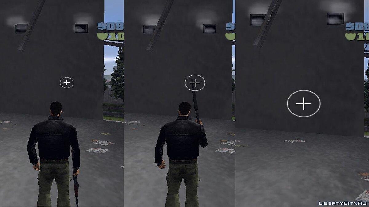 Texture mod New scopes for GTA 3