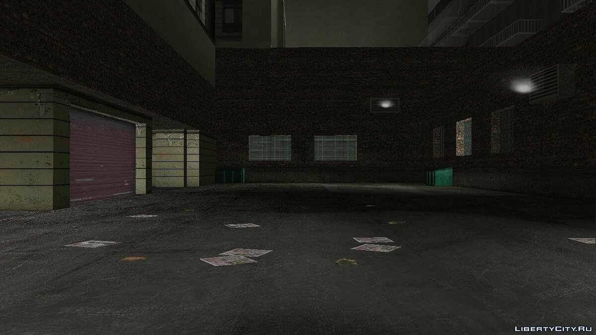 New texture shelters in Staunton Island for GTA 3