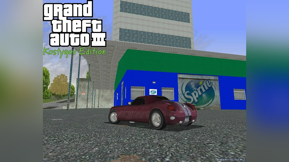 Texture mod Sprite Factory. for GTA 3