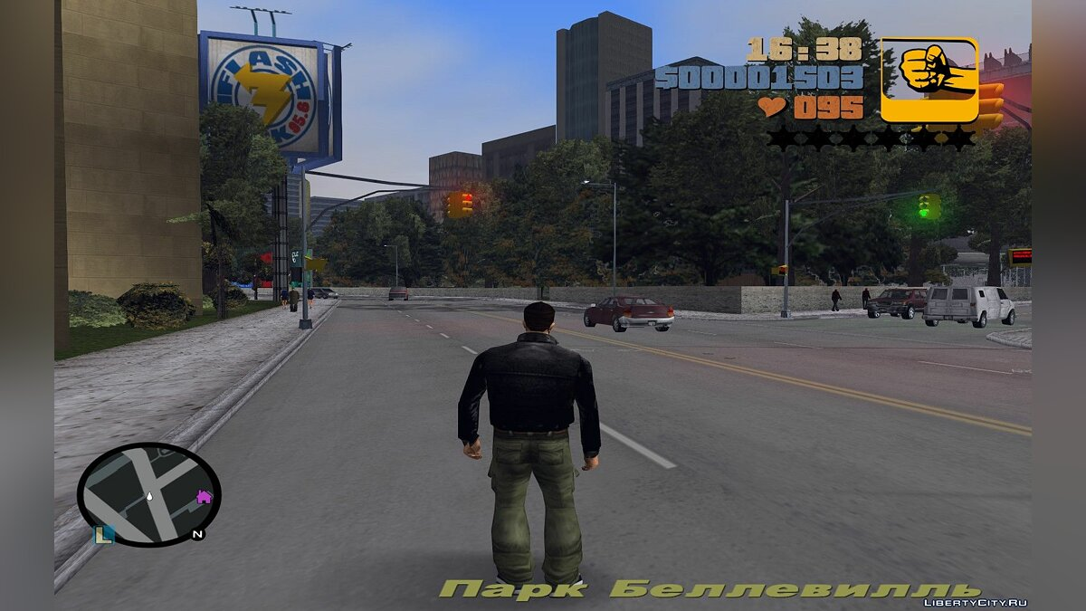 Texture mod Радар HD версия в стиле GTA IV for GTA 3