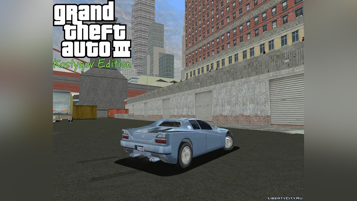 Texture mod KE Staunton Patch 5 for GTA 3