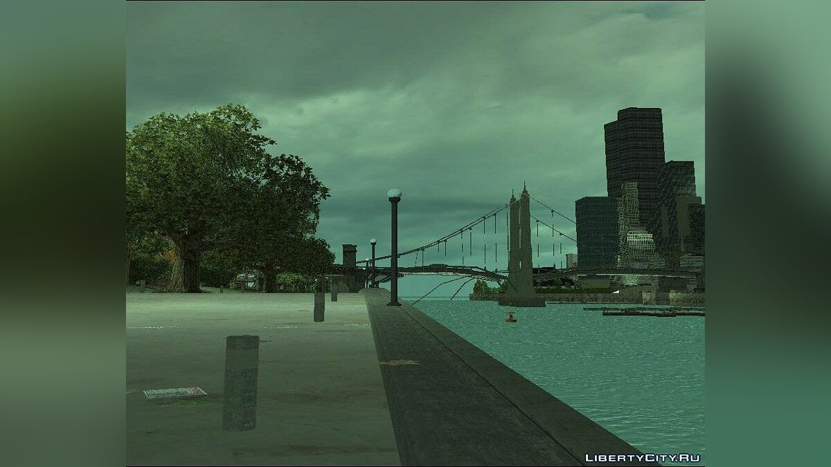 New Water Texture for GTA 3 for GTA 3 - screenshot #3