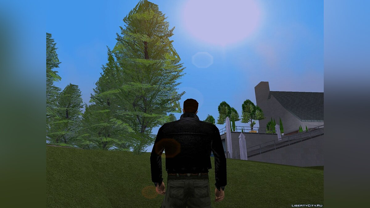 Realistic vegetation for GTA 3 v 1.0 for GTA 3 - screenshot #2