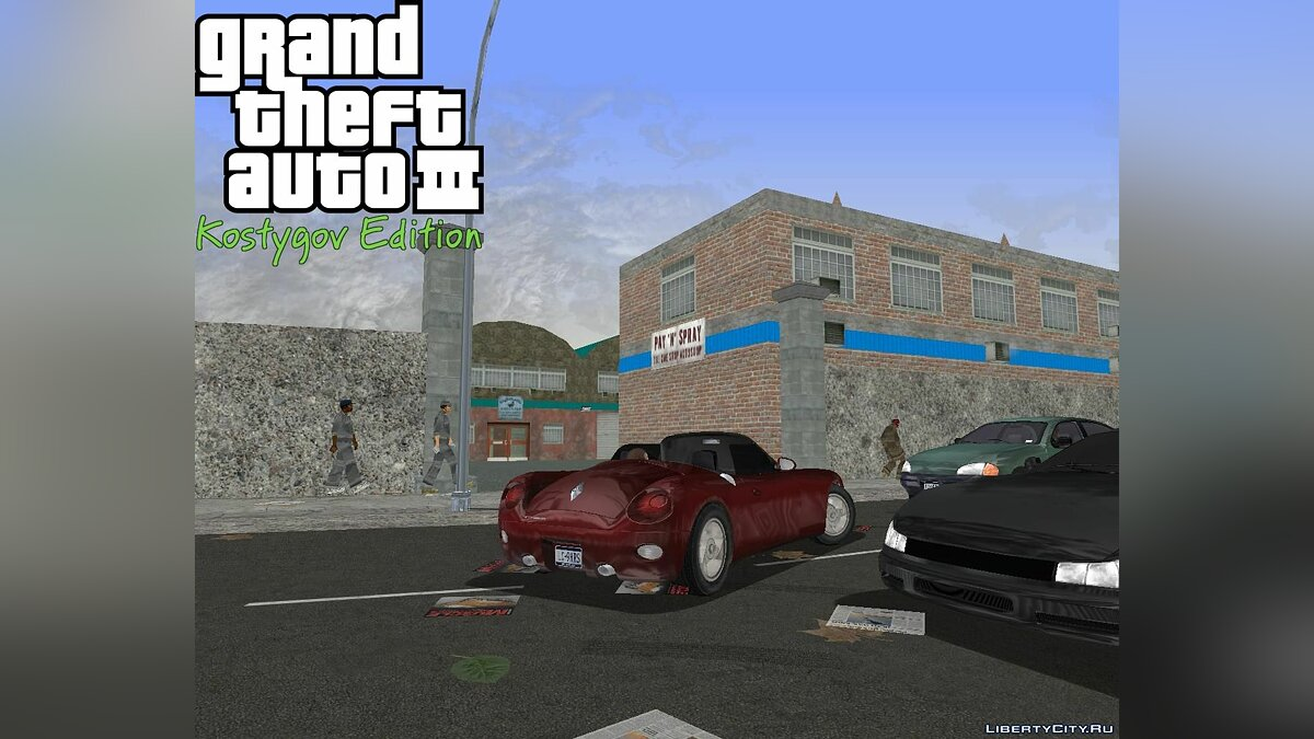 Texture mod KE SV Patch 4 for GTA 3