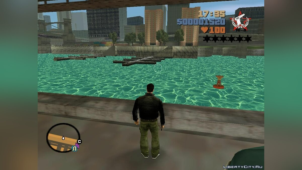 New light water for GTA 3 - Картинка #1
