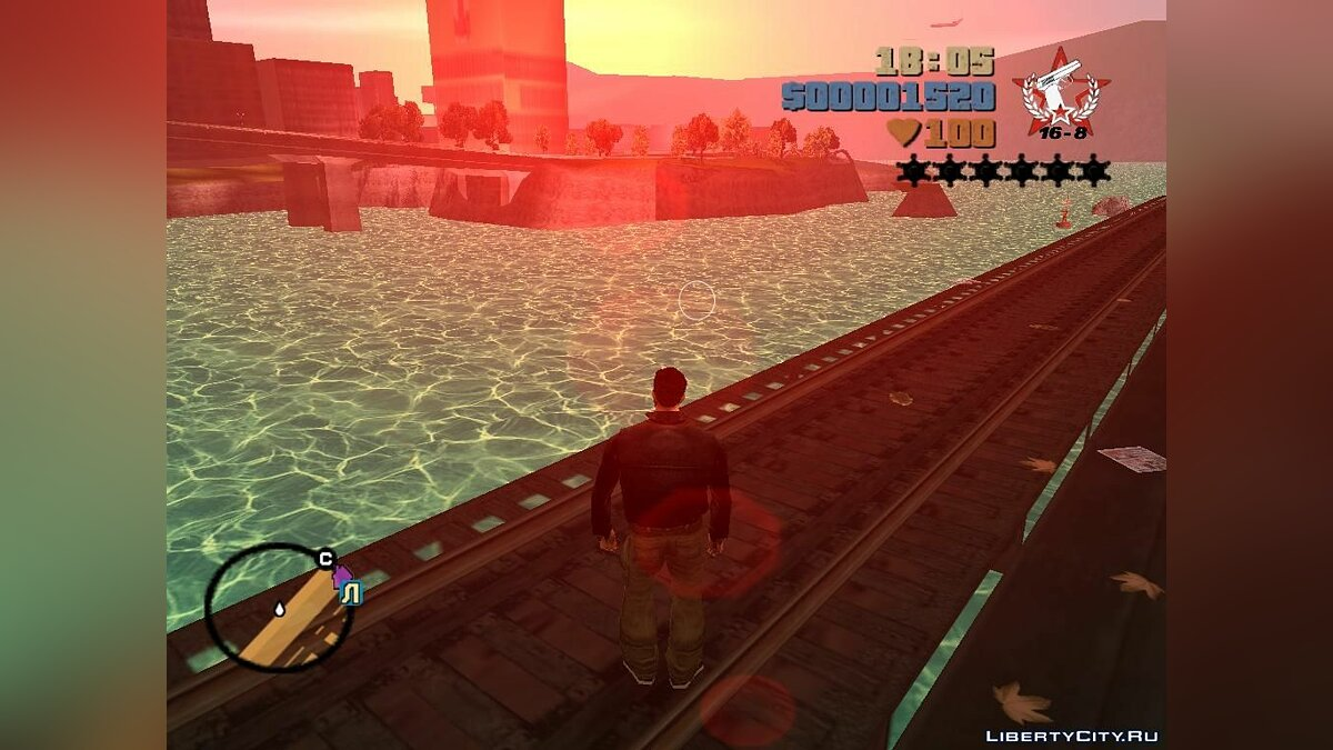 New light water for GTA 3 - Картинка #2