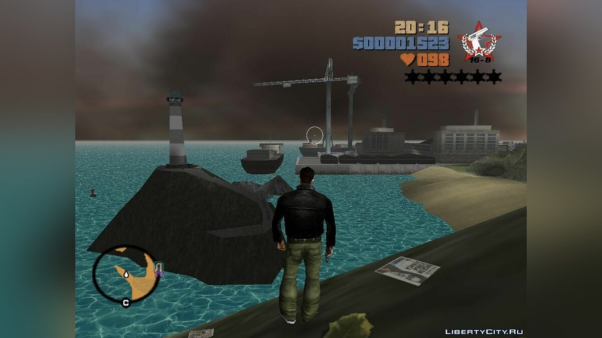 New light water for GTA 3 - Картинка #3