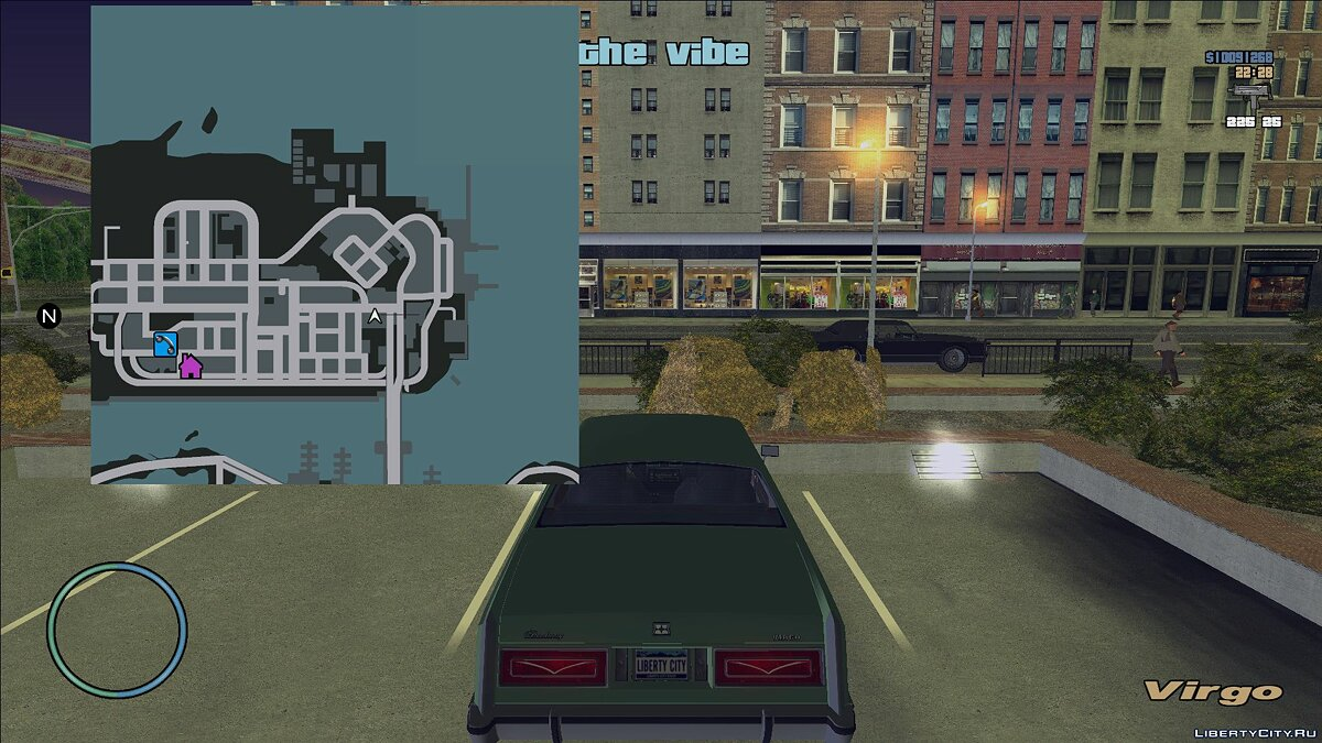 Texture mod GTA 4 Map style for GTA 3
