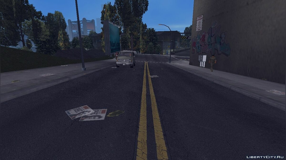 GTA3 HD Road for GTA 3