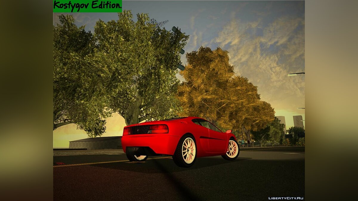 Texture mod Green Trees Pack. for GTA 3