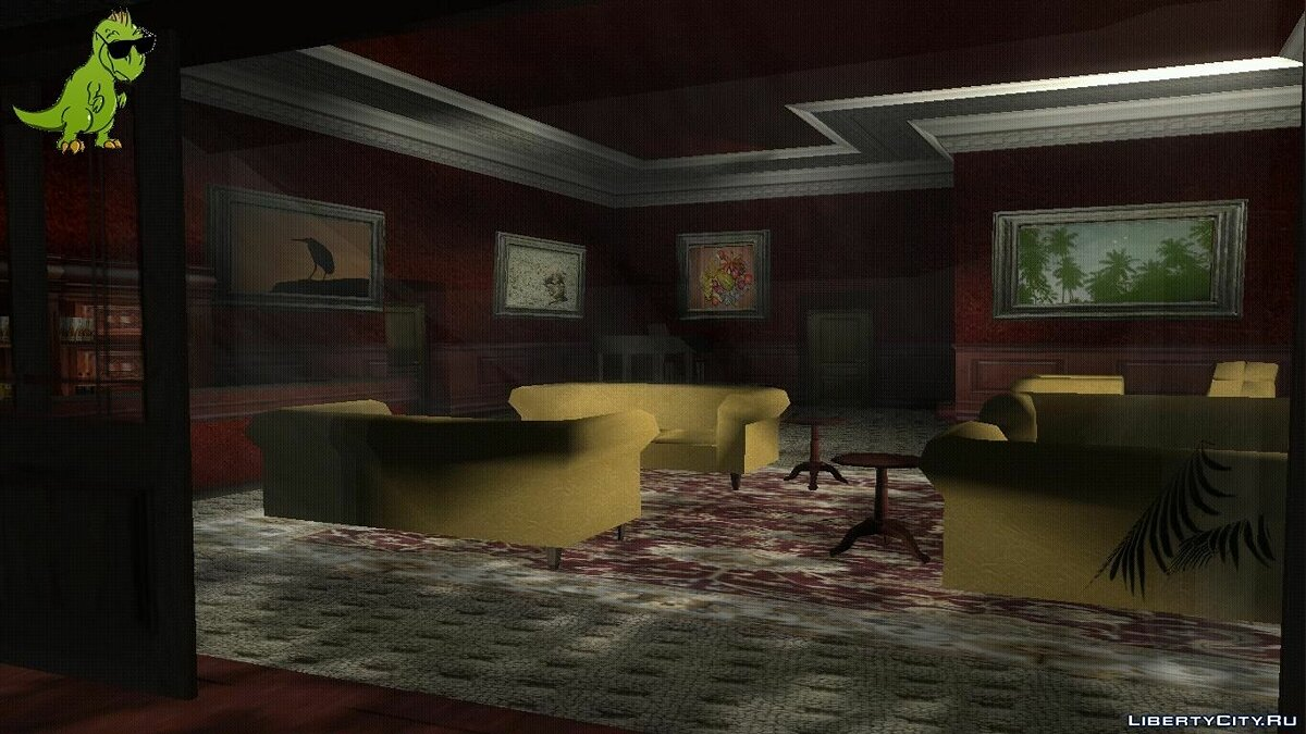 New Texture for Salvatore's Gentlemen's Club (For competition) for GTA 3
