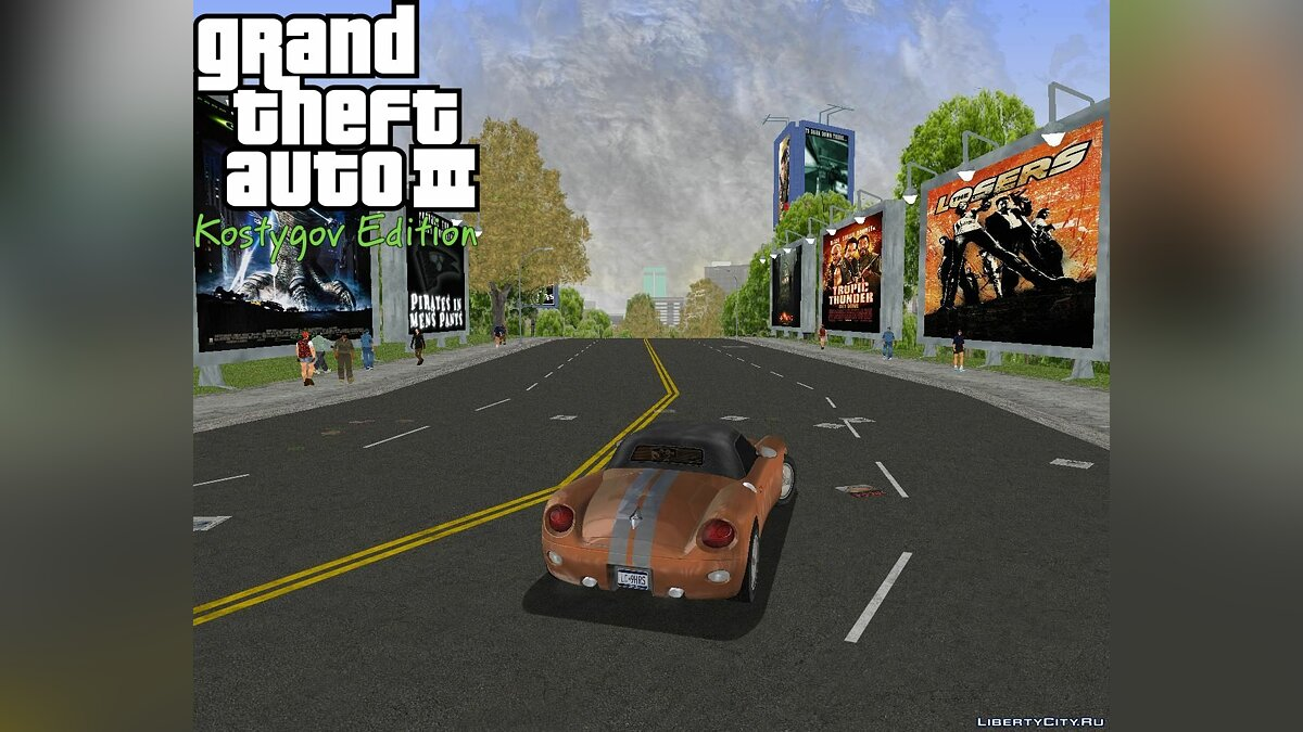 Texture mod Shoreside Ads New. for GTA 3