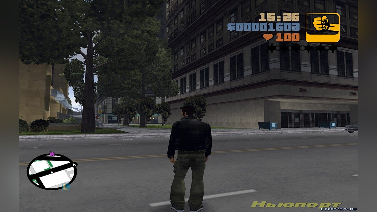 Texture mod Радар HD версия в стиле Vice city for GTA 3