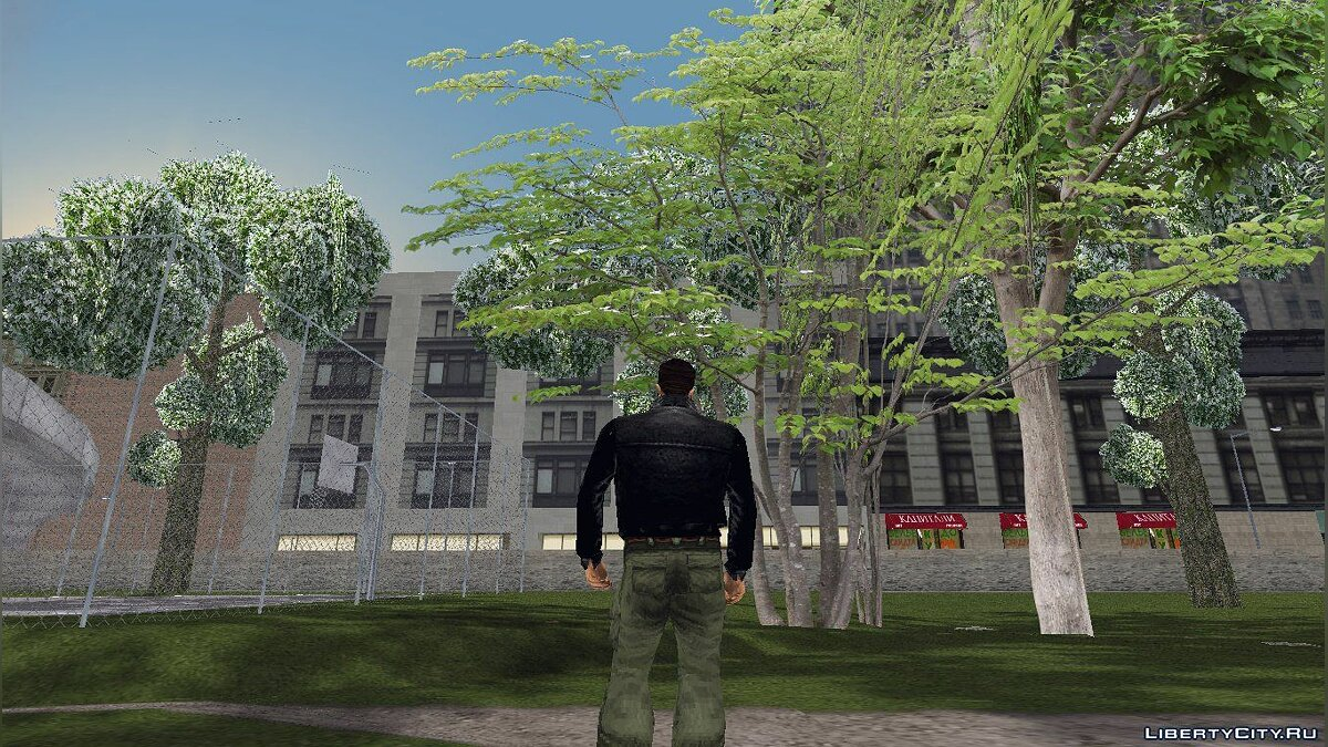 Texture mod GTA3 HD Trees for GTA 3