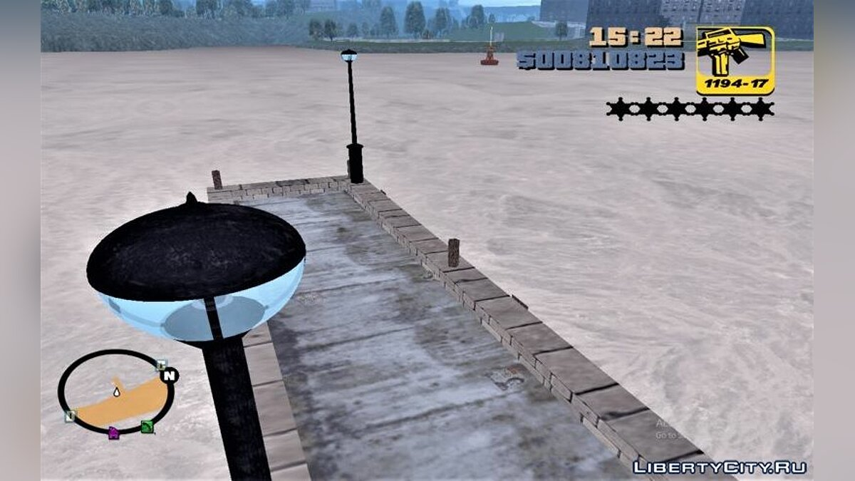 Texture mod GTA 3 Environment Pack for GTA 3