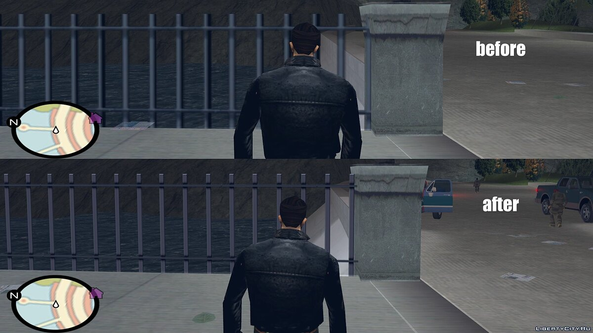 HQ textures for GTAIII for GTA 3 - screenshot #3
