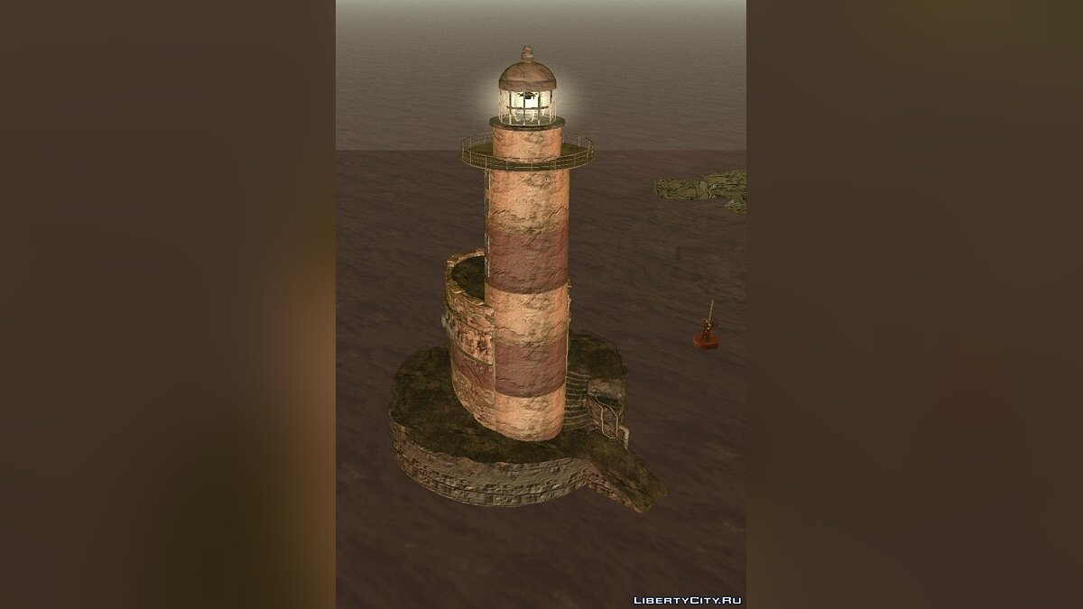 New object The abandoned lighthouse and Darkel for GTA 3
