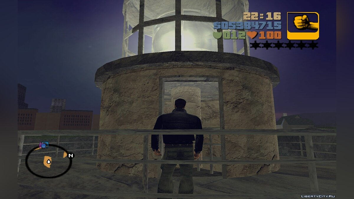 The abandoned lighthouse and Darkel for GTA 3 - screenshot #8