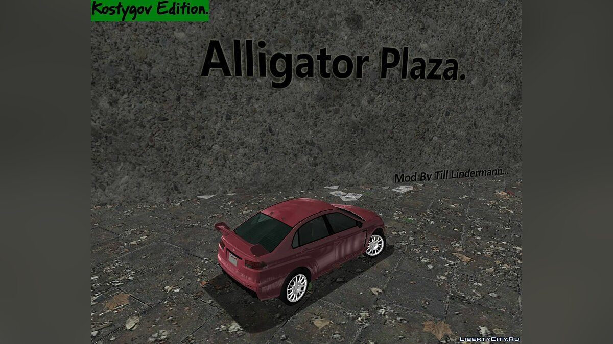 New object Alligator Plaza. for GTA 3