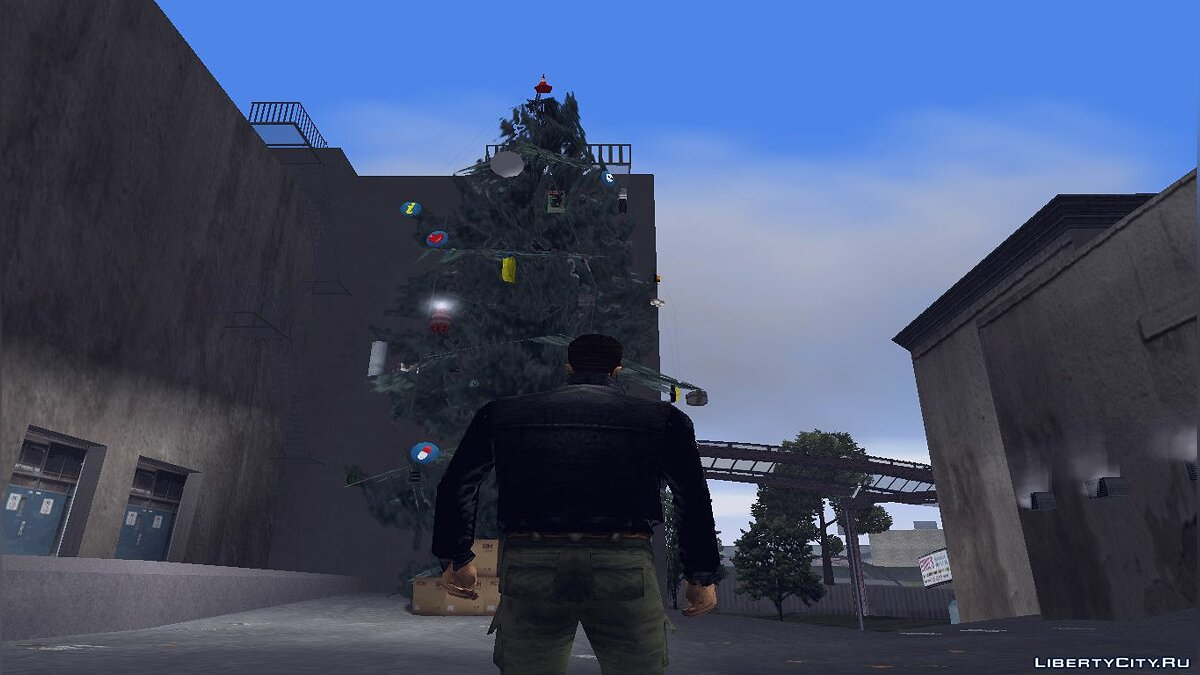 New object Christmas trees for GTA 3