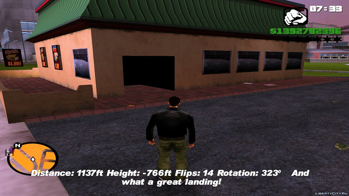 New object Cluckin 'Bell of San Andreas for GTA 3