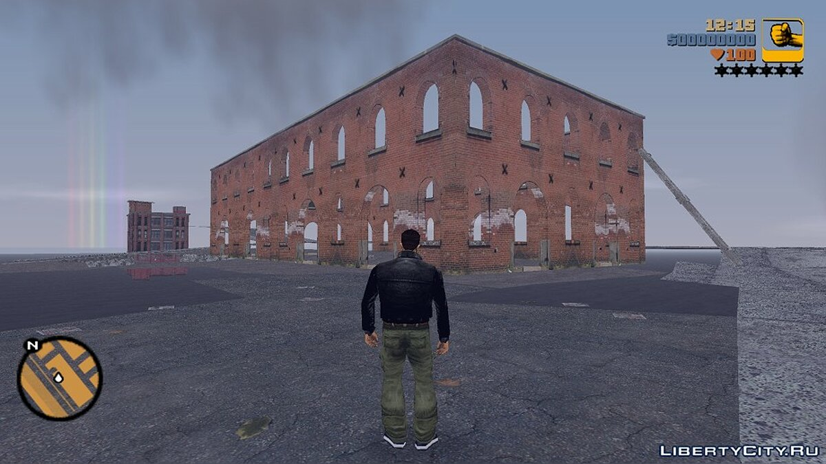 Abandoned building from GTA IV for GTA 3 - Картинка #1