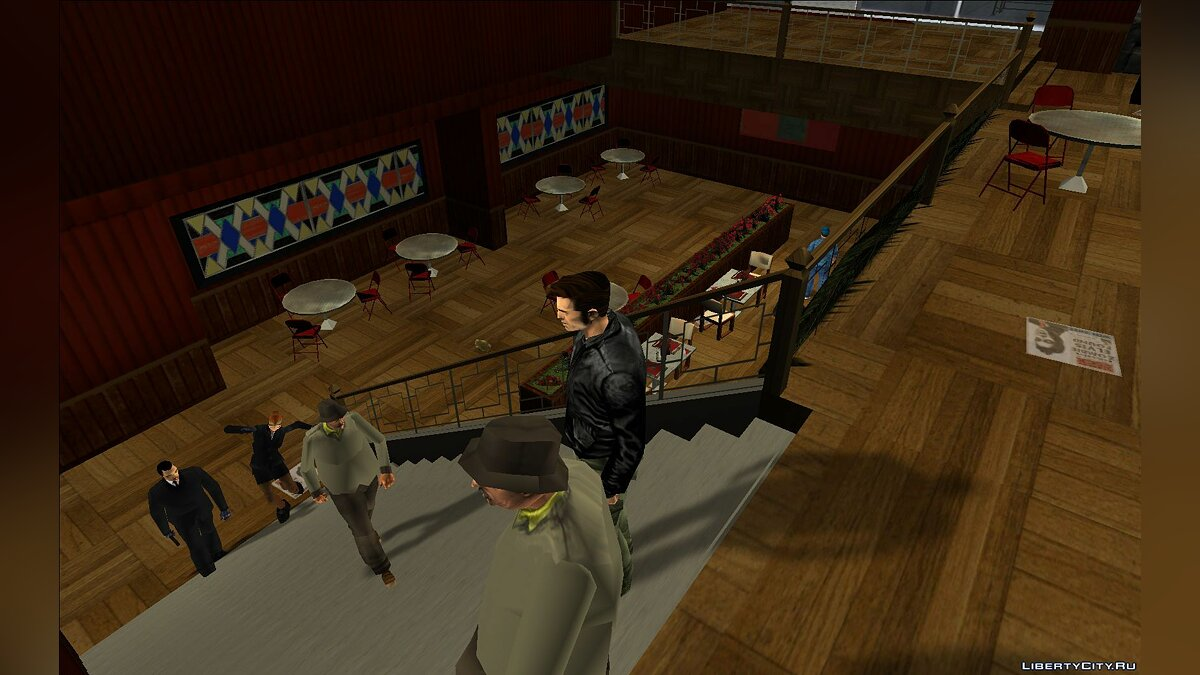 New object Marco's bistro interior for GTA 3