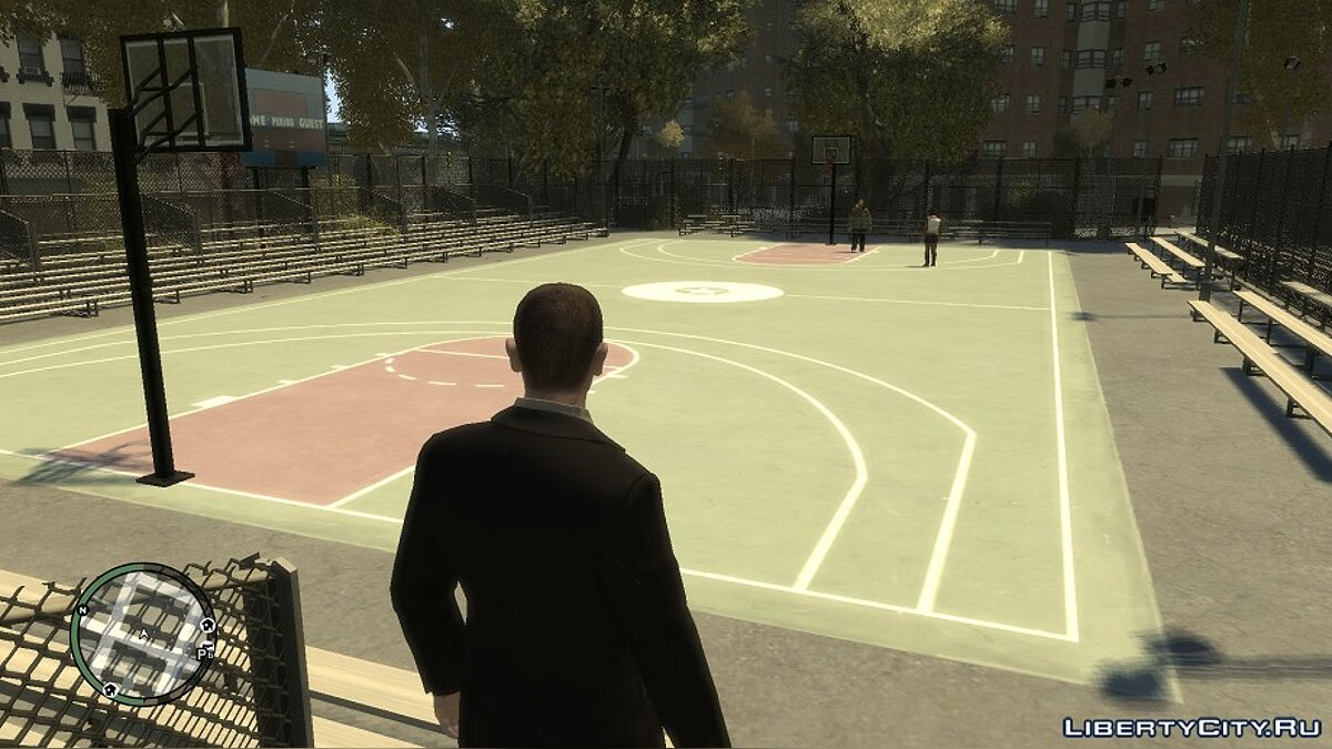 Basketball Court from GTA IV for GTA 3 - Картинка #2