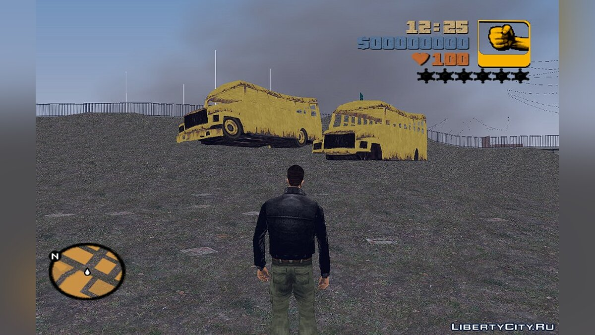 Pack of transport remains from GTA IV for GTA 3 - Картинка #2