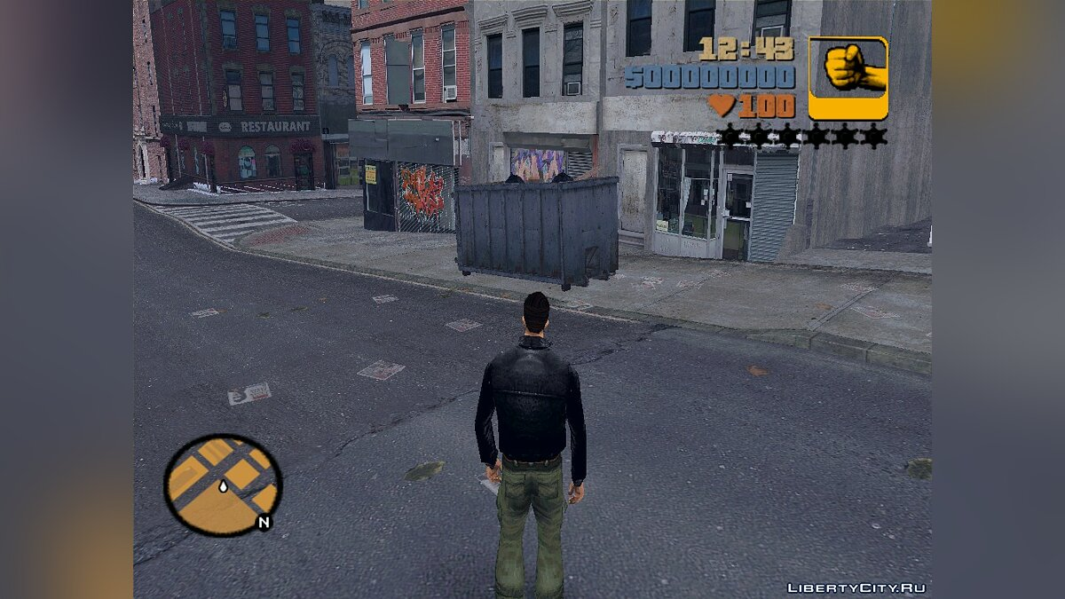 Garbage can from GTA IV for GTA 3 - Картинка #3