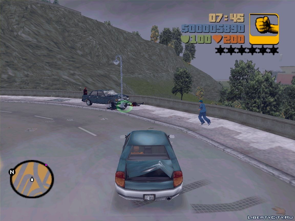 GTA 3 - VC Cars In Action for GTA 3
