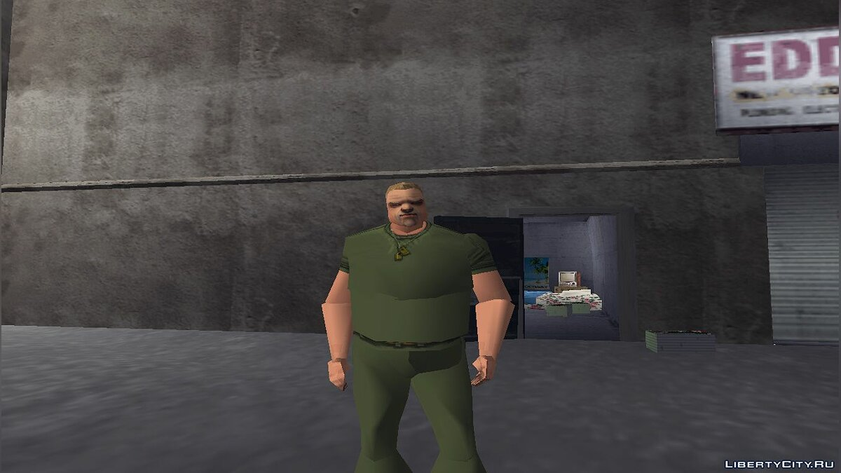 Mod Phill has 2 arms for GTA 3