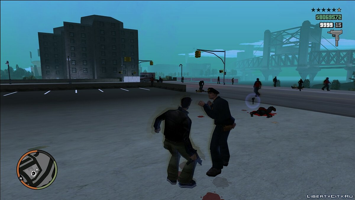 Mod Hood in the style of GTA 4 / EFLC for GTA 3