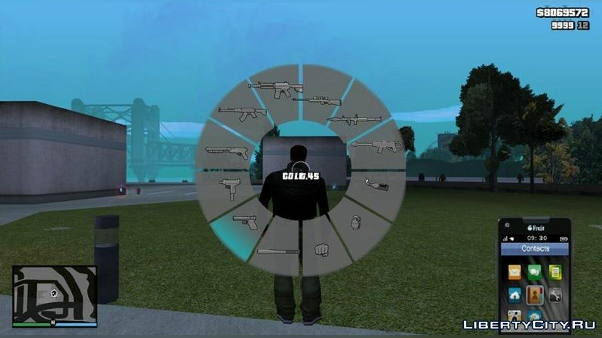 Mod Hood in the style of GTA 5 for GTA 3 V1.2 for GTA 3