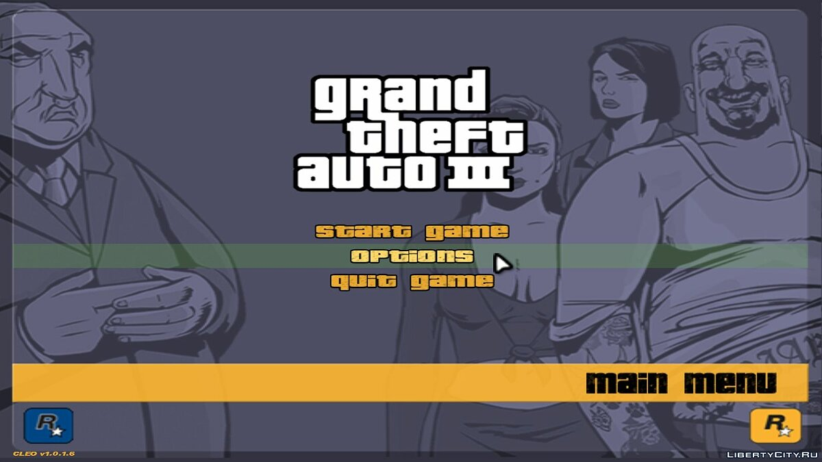 GTA III: Widescreen Fix for GTA 3 - screenshot #2
