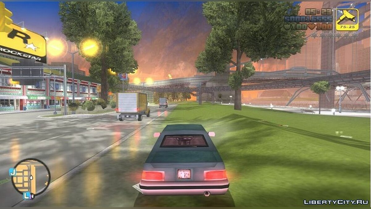 Mod Updated particles (improved graphics) for GTA 3