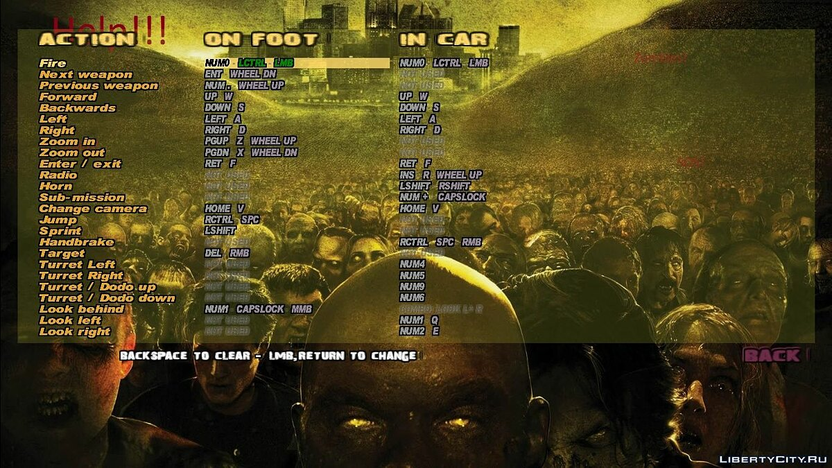 Mod Font for GTA 3: Zombie Mod for GTA 3