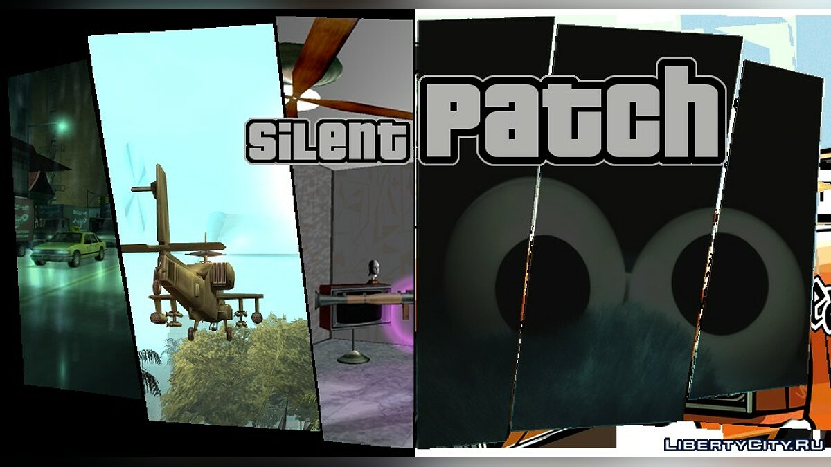 Mod SilentPatch v1.1 Build 7 with support for Rockstar Games Launcher for GTA 3