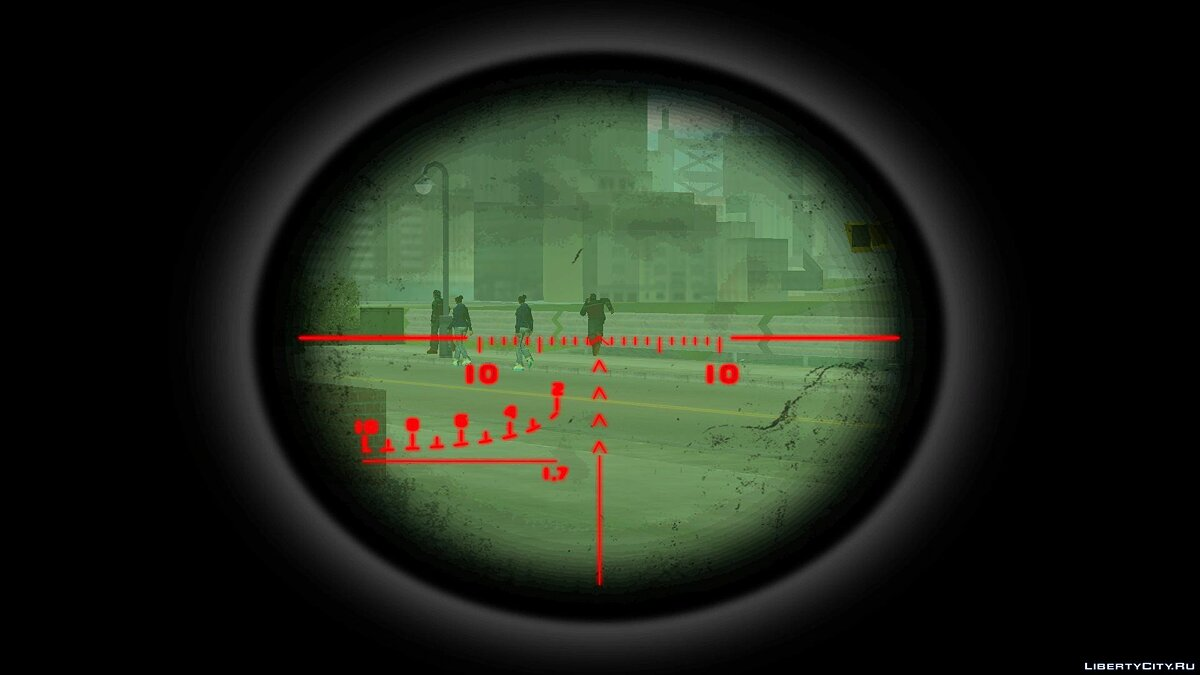 Custom Sniper Scope for GTA 3