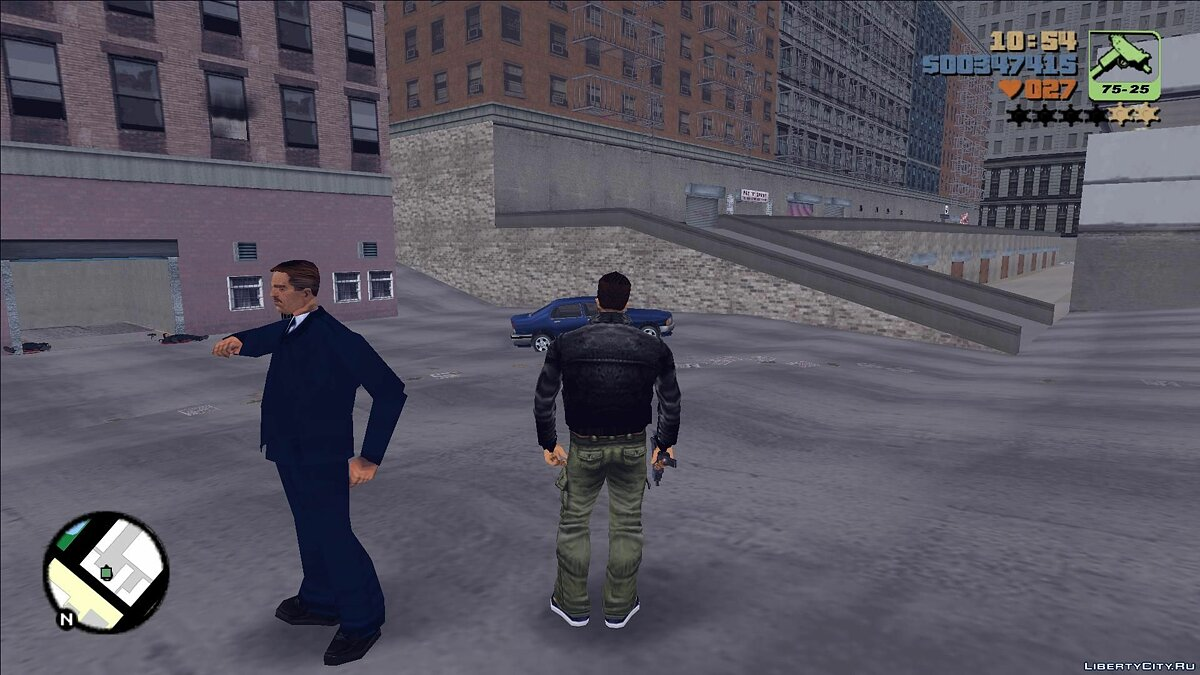 Mod The real Leon McAffrey for GTA 3