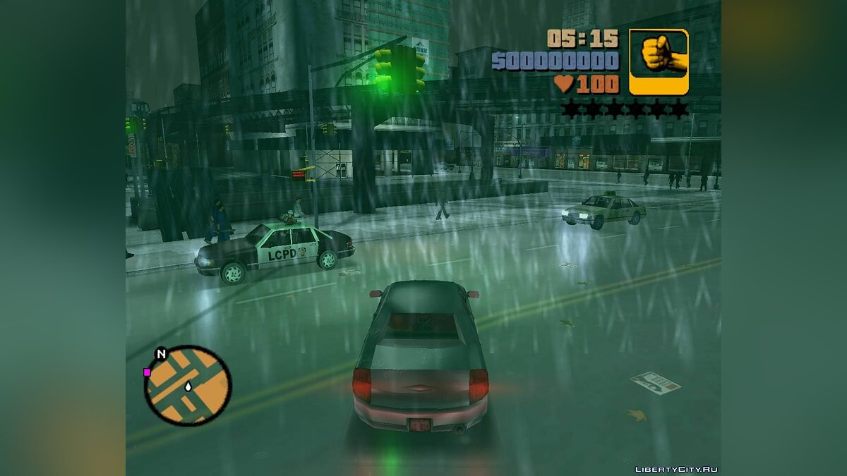 Patch SilentPatchIII 1.1 build 2 + DDraw build 3 for GTA 3