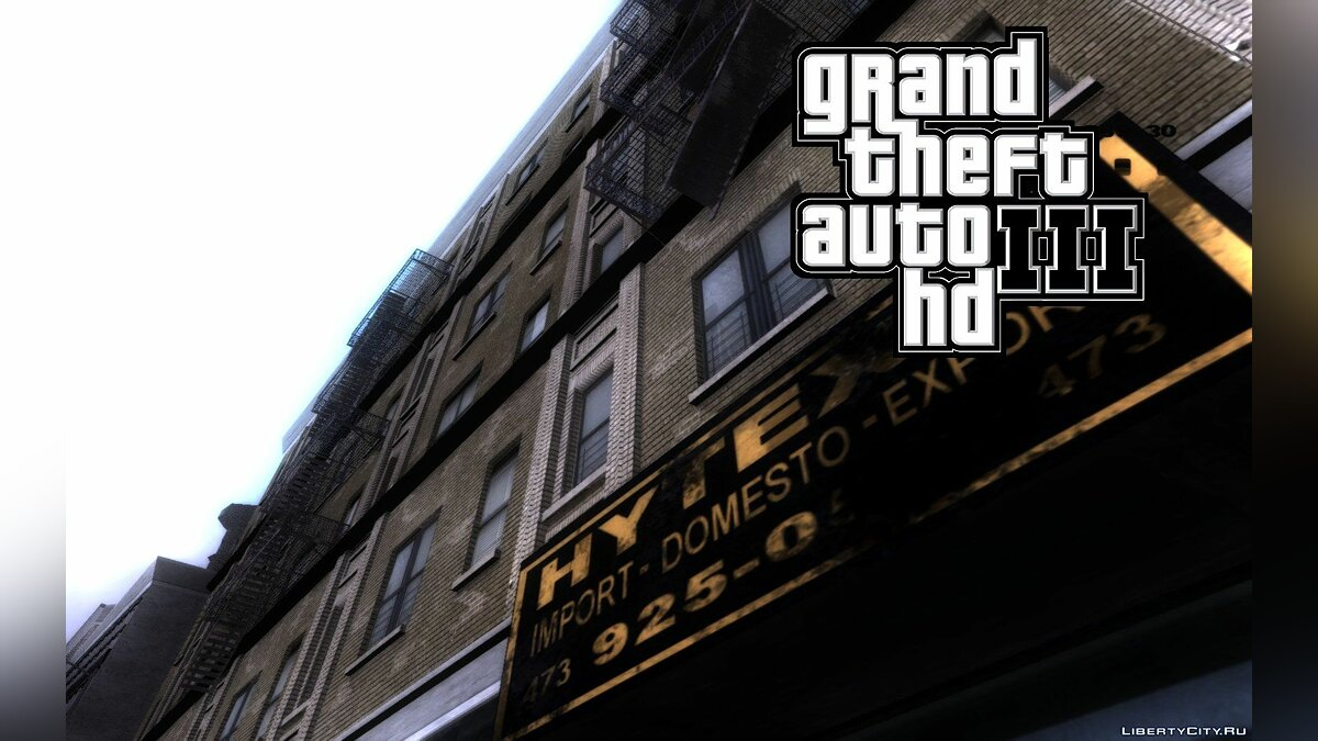 Patch Patch for mod GTA III HD v2 for GTA 3