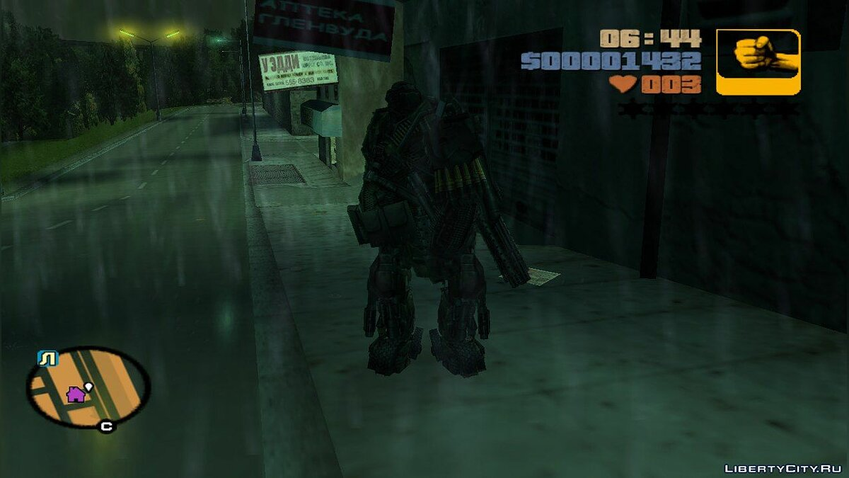 New character Hound from Transformers: Age of Extinction for GTA 3